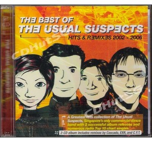 Usual Suspects : HITS & REMIXES 2002-2006 2CD Euro Dance Album